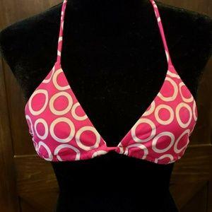 Victoria's Secret XS Pink Polka Dot String Bikini